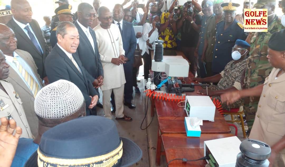 Togo: une opération de marquage des armes
