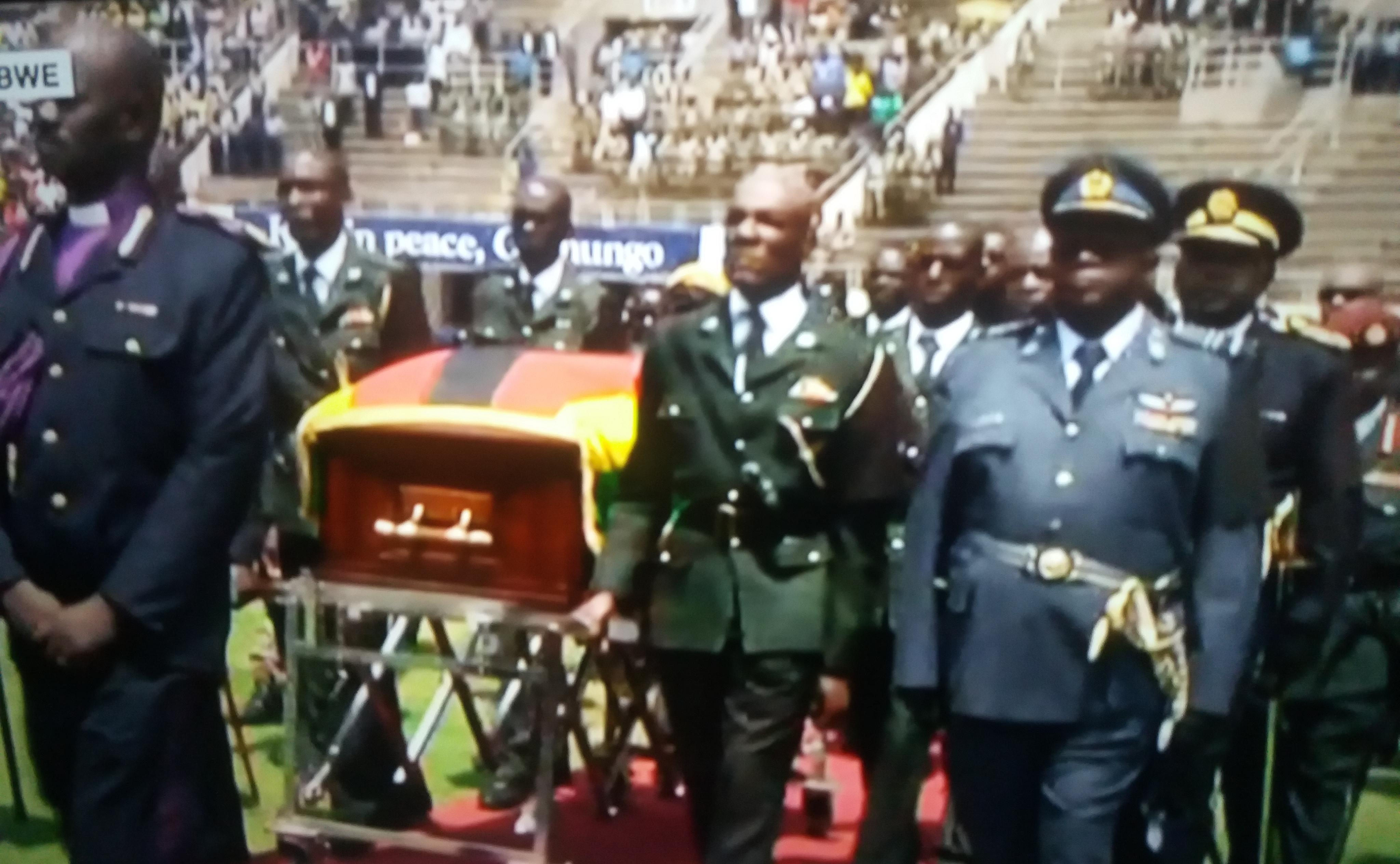 Zimbabwe: un dernier hommage rendu à Robert Mugabe