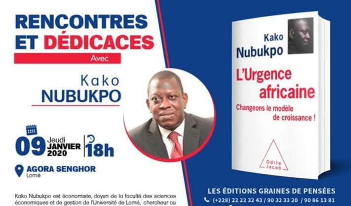 L'urgence africaine de Kako Nubukpo:» avoir de bonnes statistiques peut entraîner la perte des élections»