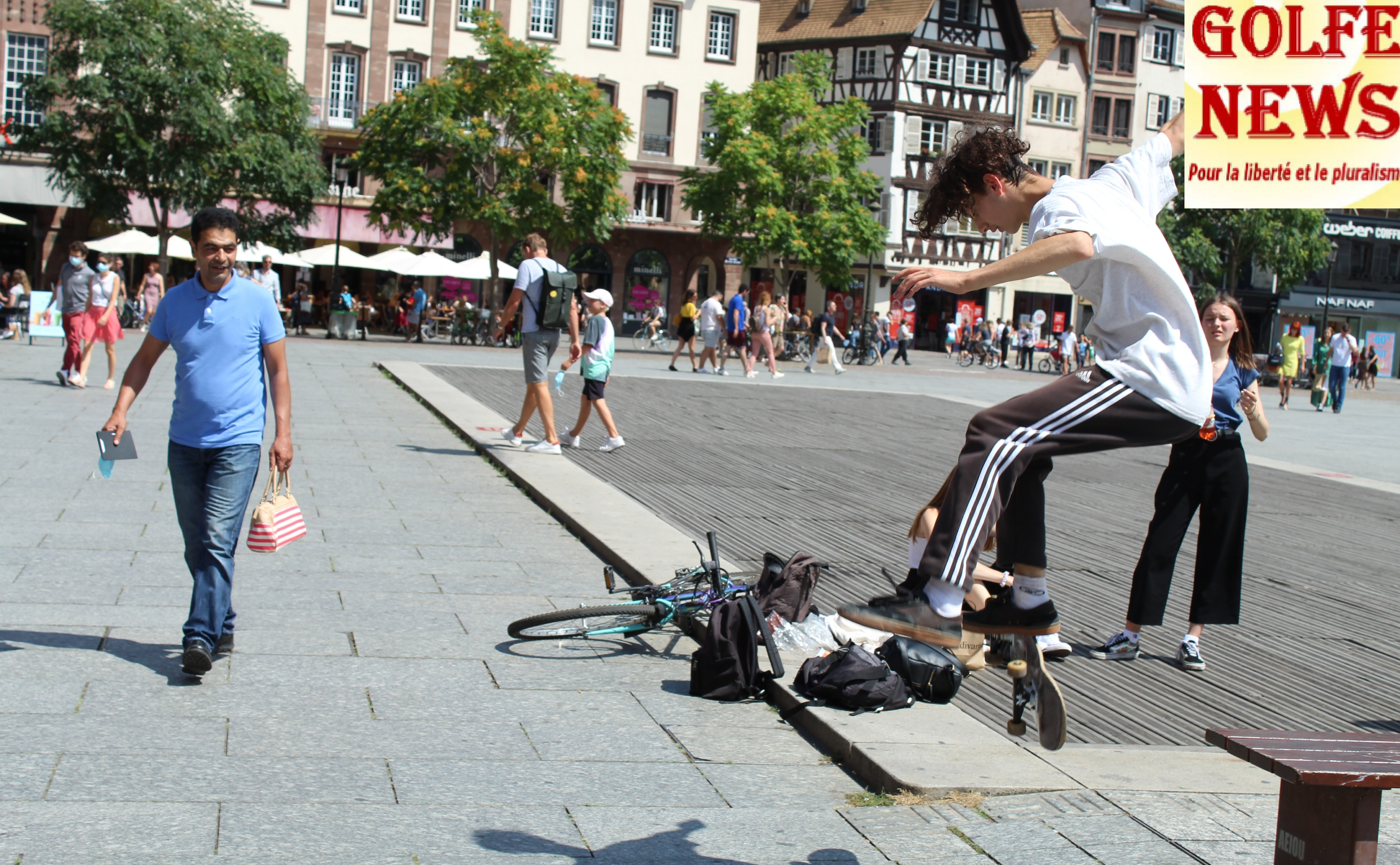 France: du Skateboard malgré la flambée des contaminations