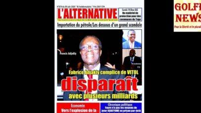 Togo: la presse s'indigne contre  la condamnation du journal l'Alternative