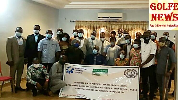 Togo: la société civile  va  présenter le  rapport alternatif  sur la mise en oeuvre des droits des personnes en situation d'handicap