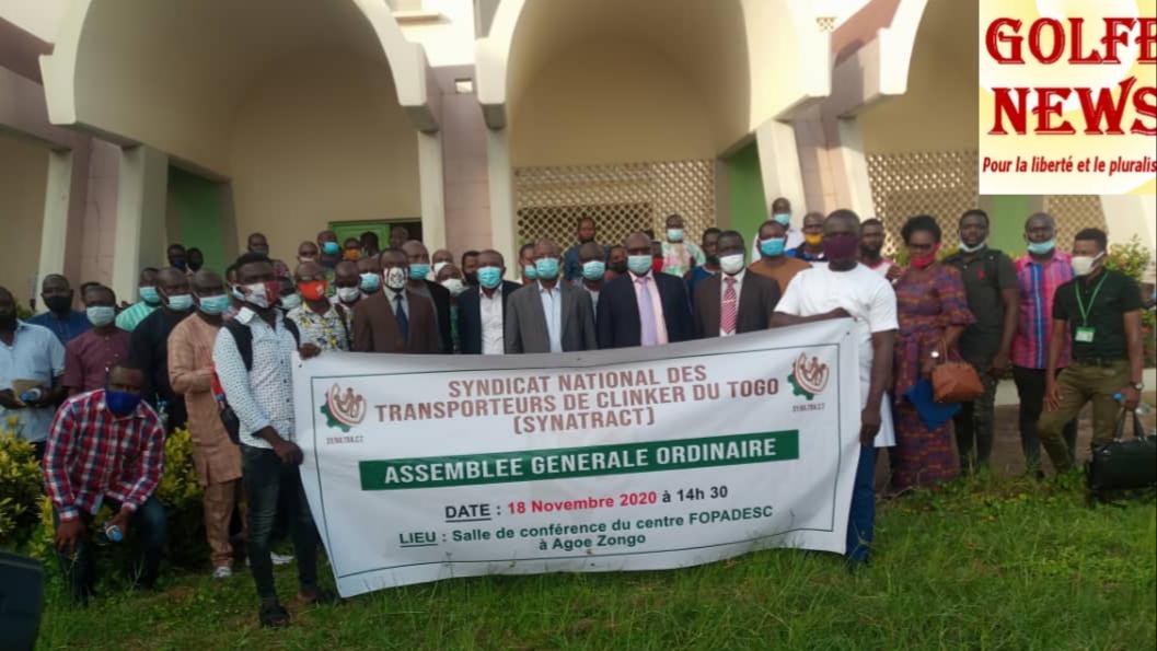 Togo: le Synatract veut améliorer les conditions de vie de ses membres