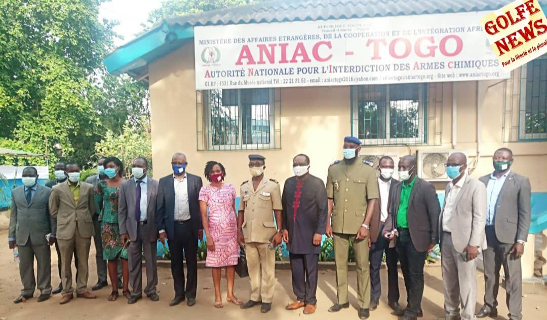 Togo: Aniac acquiert 10 hectares  pour la transformation des déchets  chimiques