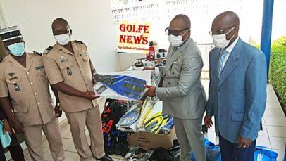 Togo: des équipements de plongée sous-marine offerts à la gendarmerie nationale