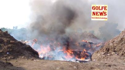 Togo: les stupéfiants brûlés
