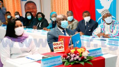 Togo: le parti Unir a assité à la célébration des 100 ans du Parti communiste  chinois