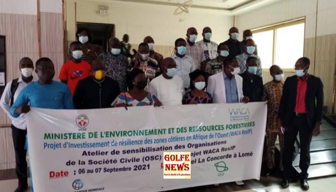 Togo: impliquer les acteurs de la société civile autour du projet WaCAResip